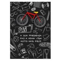 Cartão Artesanal Pai Desenhos
