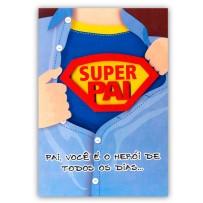 Cartão Artesanal Pai Camisa superpai