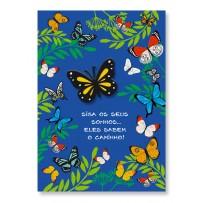 Cartão Artesanal Borboletas