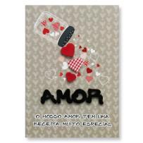 Cartão Artesanal Amor potinho