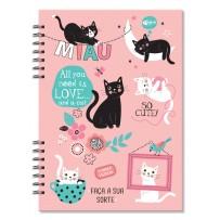 Planner compacto mensal Gatos