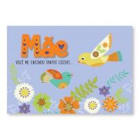 Cartão Mix Mãe Passarinho
