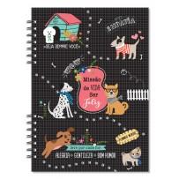 Planner Compacto mensal Cachorro amigo